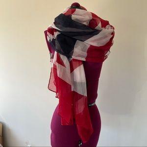Large Union Jack British Scarf